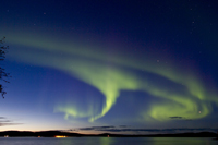 Northern Lights at Menesjarvi