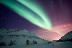 Honeymoons in Scandinavia in search of the Northern Lights