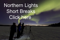 Northern Lights Short Breaks