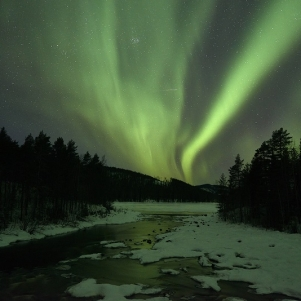 Credit: Graeme Richardson, Northern Lights Swedish Lapland