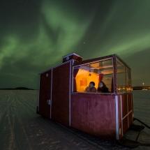 Mobile Aurora Cabin Finland