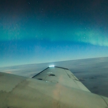 Credit: Wild Nordic Northern Lights Flight