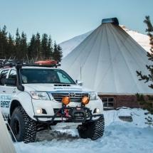 Arctic Truck driving