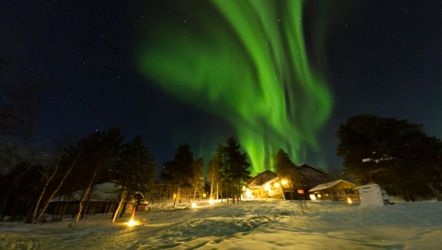 ... Arctic Adventure And Northern Lights Holiday In Finland Hotel  Korpikartano ...