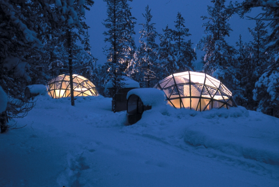 Stay For One Night In The Fabulous Glass Igloos   Designed To Give You  Optimum View ...