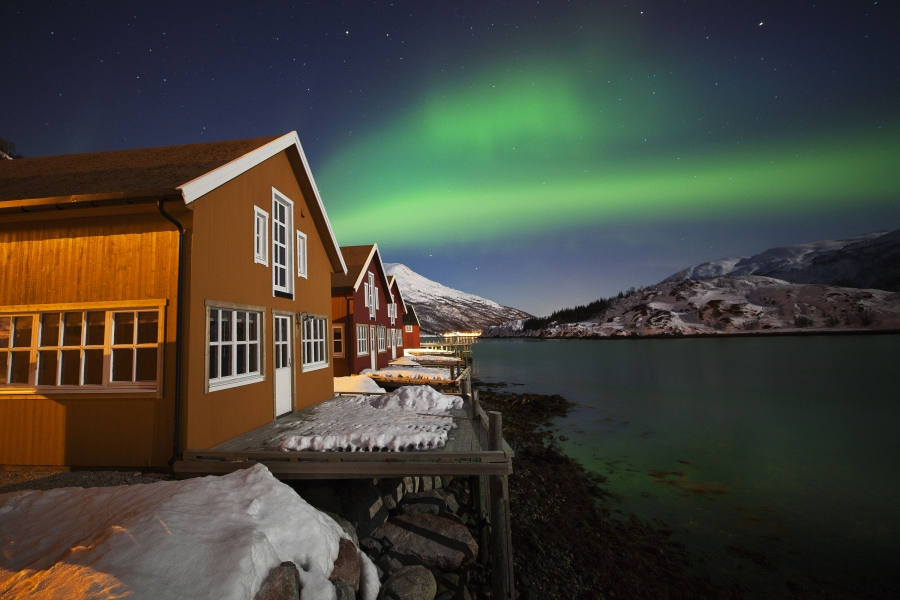 Northern Lights Cabin Holiday Tromso