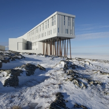 Fogo Island Inn during the Winter