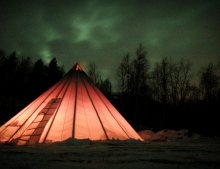 The Northern Lights came out on more than one occasion during the December trip 2012