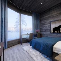 Wild Brown Bear Cabin