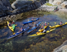 Sea Kayaking Holiday in West Sweden - The Weather Islands