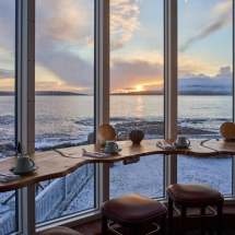 Hotel Havgrim - Breakfast with a view