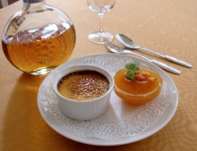 The hotel serves a menu of local ingredients such as cloudberries (pictured), reindeer meat and white fish from Lake Inari.