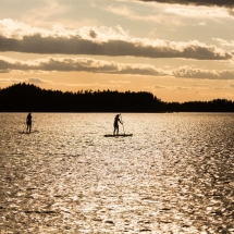 Evening paddle