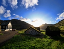 Saksun Faroe Islands Short Break Holiday Vacation Self Drive Image: Olavur Fredriksen