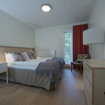 Room in the eco-lodge