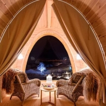 Gamme Cabin interior - Snowhotel