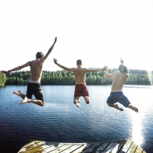 Swim jump, Photo Tommasso Fornoni