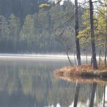 Paddle scenic lakes