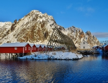 Winter in Arctic Lofoten