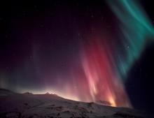 Northern Lights in Snaefellsnes Peninsula