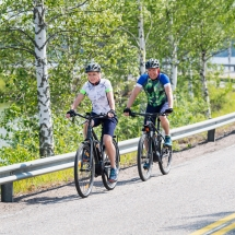 Cycling the Finland Archipelgo