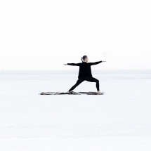 Yoga on Ice