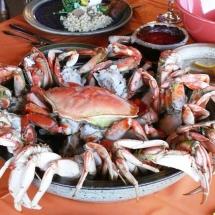 A crab feast