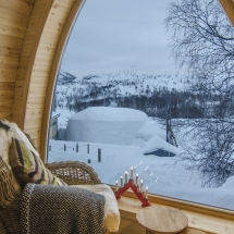 Gamme Cabin at Kirkenes Snow Hotel