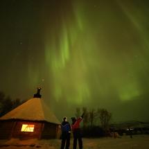 Northern Lights Holiday at Nuorgam