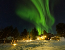 Arctic Adventure and Northern Lights Holiday in Finland Hotel Korpikartano