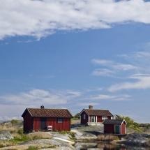 houses on the arcipelago