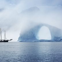 Greenland fjord sailing tour