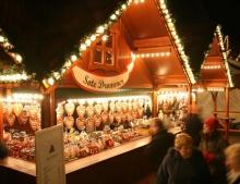 Christmas market at Spikersuppa Oslo