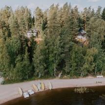 Lehmonkarki Forest view by Julia Kivela