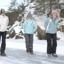 Ice Skating Holiday in Finland