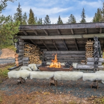 The perfect campfire for outdoor living